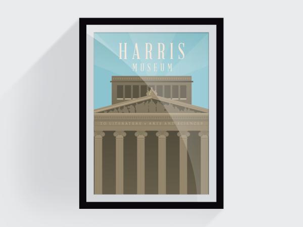 <span>Harris Museum – City Scenes</span><i>→</i>
