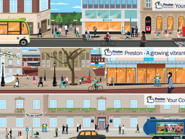 <span>Preston City Council – Corporate Values Illustration</span><i>→</i>