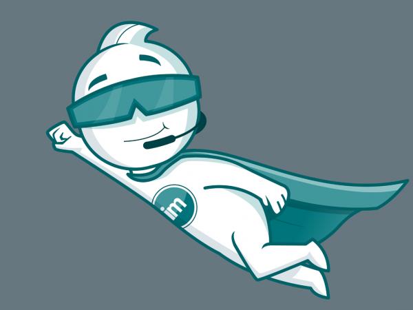 <span>i-Man Mascot design</span><i>→</i>