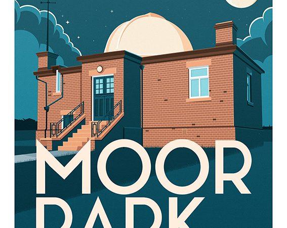 <span>Moor Park Observatory in Preston Retro Travel Poster</span><i>→</i>