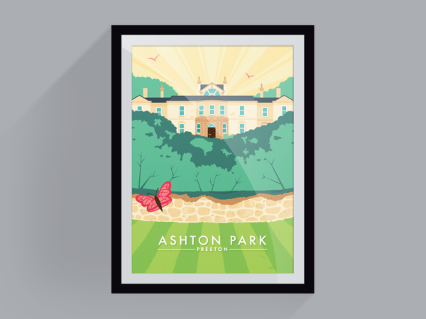 <span>Ashton park in summer</span><i>→</i>