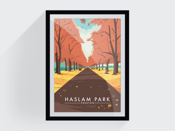<span>Haslam park in autumn</span><i>→</i>