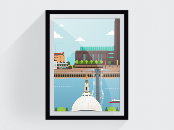 <span>Bankside Print (for London Transport Museum)</span><i>→</i>