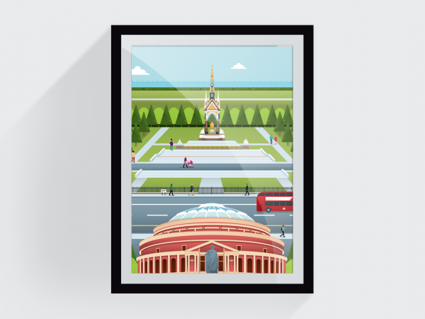 <span>Hyde Park Print (for London Transport Museum)</span><i>→</i>