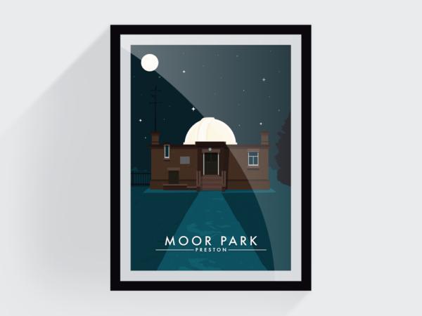 <span>Moor park at night</span><i>→</i>